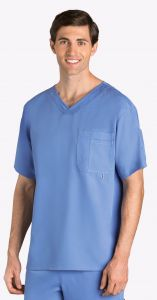Grey's Anatomy™ 0107 Men's V-Neck Top