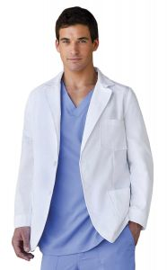 "Barco 0619 Men's Consultation 30"" Lab Coat"