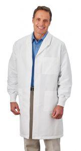 "White Swan Meta 11653 Unisex Fluid Resistant Barrier 40"" Lab Coat"