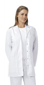 "Cherokee 1369 Snap Front Size 32"" Lab Coat"