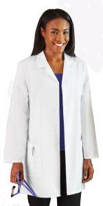 "White Swan Meta 15009 Women's 5-Pocket 35"" Lab Coat *CLEARANCE*"