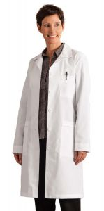 "White Swan Meta 17010 Women's Nano-Tex 39"" Lab Coat *CLEARANCE*"