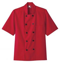 Five Star Chef Apparel 18025 Short Sleeve Chef Jacket