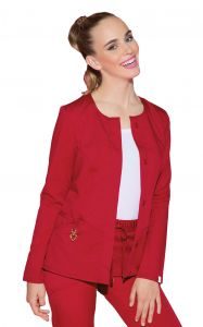 Cherokee Heartsoul 20601A Head Over Heels Button Front Jacket *CLEARANCE*