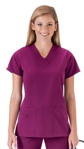 JOCKEY™ 2206 Scrubs Short Sleeved Zipper Top