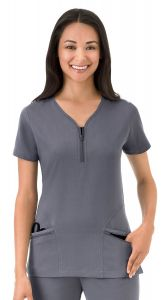 JOCKEY™ 2311 Modern Scrubs Zippity Day Top
