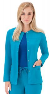 JOCKEY™ 2316 Modern Scrubs Snappy Jacket
