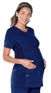 Landau ProFlex 4399 Maternity V-Neck Top