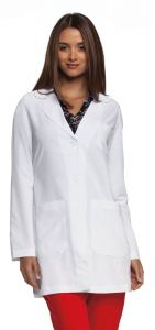 "Grey's Anatomy™ Signature 2405 Round Notch Collar 32"" Lab Coat"