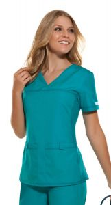 Cherokee Pro Flexibles 2968 V-Neck Top