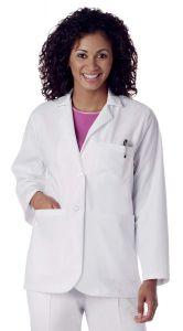 "Landau 3230 Women's 2-Button Consultation 28"" Lab Coat"