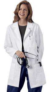 "Cherokee 346 Multi-Pocket Size 32"" Lab Coat"