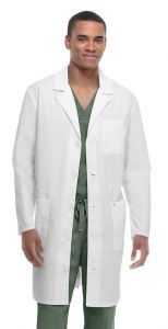 "Code Happy Bliss Certainty® 36400 Unisex 38"" Lab Coat *CLEARANCE*"
