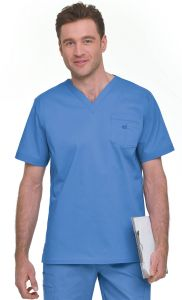 Landau Smart Stretch 4098 Men's  V-Neck Top