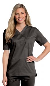 Landau All Day 4139 Unisex V-Neck Top