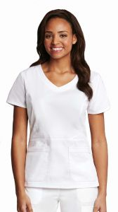 "Barco Prima 41413 Women's V-Neck 25.5"" Top"