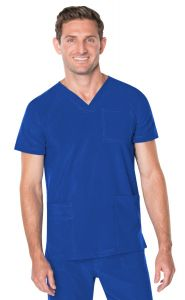 Landau ProFlex 4253 Men's V-Neck Top