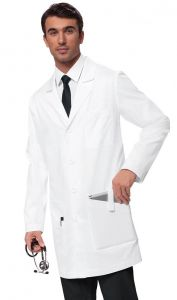 """Koi 433 Jack Men's 38"""" Classic iPad Lab Coat"""