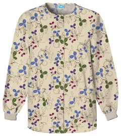 Scrub HQ 4350 Clover Park Print Jacket