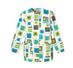 Scrub HQ 4350 Victorian Hearts Print Jacket