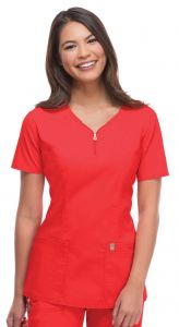 Code Happy Bliss Certainty® 46600 Women's V-Neck Top