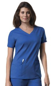 Cherokee WorkWear 4727 Core Stretch V-Neck Top