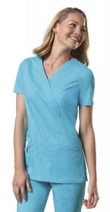 Cherokee WorkWear 4728 Core Stretch Mock Wrap Top