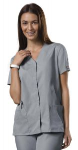 Cherokee WorkWear 4770 Snap Front 2-Pocket Tunic