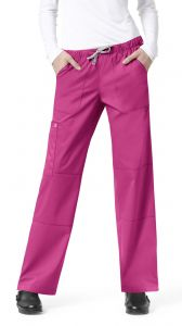 WonderWink WonderWORKS Women's 504 Straight Leg Cargo Pant