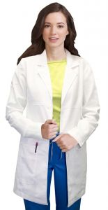 "Med Couture ViVi 5601 Chic 33"" Lab Coat"