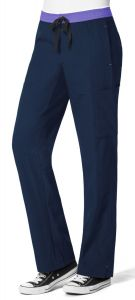 WonderWink Four-Stretch 5814 Women's Straight Leg Cargo Pant *CLEARANCE no return or exchange*