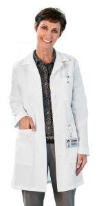 "White Swan Meta 6150 Women's Back Belt 35"" Lab Coat"