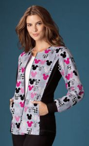Disney 6315C MICKEY Print Jacket