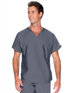 Landau Scrub Zone 71221 Unisex V-Neck Top