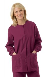 Landau 7525 Women's Crew Neck Warm Up Jacket