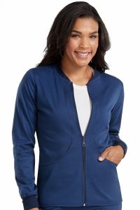 Med Couture Touch 7663 Zip Front Jacket