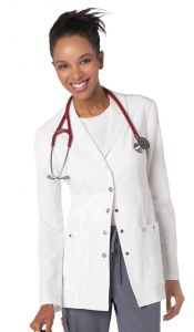 Dickies Xtreme Stretch 82400 Snap Front Lab Coat