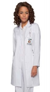 "Dickies 82401 Women's 4-Pocket Fashion 37"" Lab Coat"