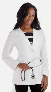 "White Swan Meta 824 Ladies Consultation 29""  Lab Coat *CLEARANCE no return or exchange*"