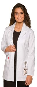 "Dickies 84406 Women's Princess Seam 29"" Lab Coat"