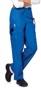 Landau 8512 Women's Classic Fit Cargo Drawstring Pant *CLEARANCE*