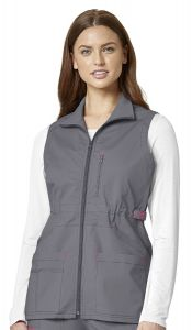 WonderWink WonderFLEX 8908 Women's Zip Fashion Vest