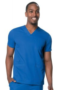 Urbane Ultimate Men's 9151 Multi-Pocket V-Neck Top