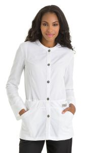 "Urbane 9607 Collarless Neckline 31"" Lab Jacket"