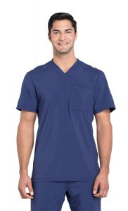 Cherokee Infinity Certainty® Men's CK910A V-Neck One Pocket Top