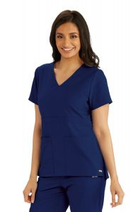 Grey's Anatomy™ GRST027 V-Neck Top *CLEARANCE*