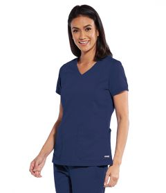 Grey's Anatomy™ GRT049 Kira V-Neck Top