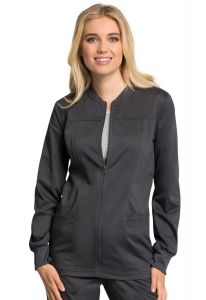 Cherokee Workwear Revolution Tech WW305AB Zip Front Jacket