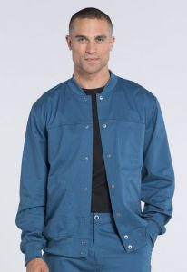 Cherokee Core Stretch WW330 Men's Snap Front Warm-Up Jacket