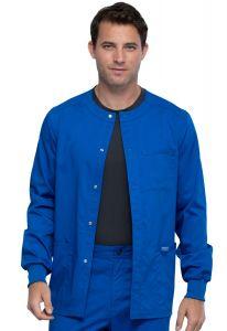 Cherokee Workwear Revolution WW380 Men's Snap Front Jacket